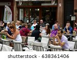 strasbourg  france   july 22... | Shutterstock . vector #638361406
