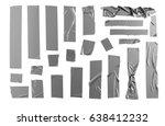 masking duct tape | Shutterstock . vector #638412232