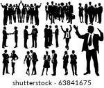 business people | Shutterstock .eps vector #63841675