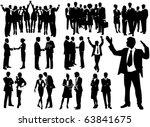 business people   Shutterstock .eps vector #63841675
