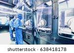 abstract  blurry  bokeh... | Shutterstock . vector #638418178