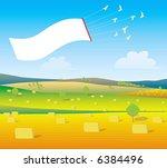 flying sign   Shutterstock .eps vector #6384496