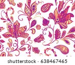 hand drawn watercolor whimsical ...   Shutterstock . vector #638467465