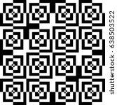 vector seamless pattern.... | Shutterstock .eps vector #638503522