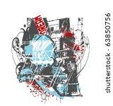 urban design | Shutterstock .eps vector #63850756