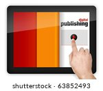 digital device with touchscreen | Shutterstock . vector #63852493