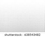 abstract halftone dotted... | Shutterstock .eps vector #638543482