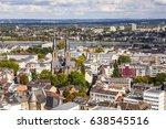 aerial of bonn  the former... | Shutterstock . vector #638545516