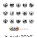 social media    metal round...   Shutterstock .eps vector #63855487