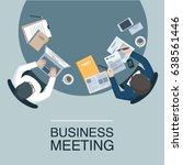 business meeting | Shutterstock .eps vector #638561446
