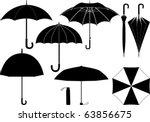 Vector umbrella collection