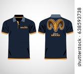 color men polo shirts. design... | Shutterstock .eps vector #638593738