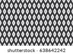 seamless black and white... | Shutterstock .eps vector #638642242