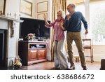 senior couple are enjoying a... | Shutterstock . vector #638686672