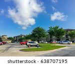 typical apartment complex...   Shutterstock . vector #638707195