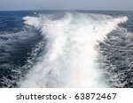 The Waves From A High Speed Boat