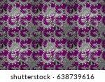 raster illustration. oriental... | Shutterstock . vector #638739616