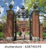 Stock photo sever gate harvard university 638740195