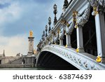 panorama of  bridge alexander...