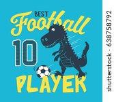 Football Sport Dinosaur...