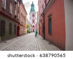 old market in poznan  poland | Shutterstock . vector #638790565