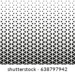 black   white geometric pattern | Shutterstock .eps vector #638797942