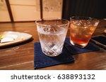 awamori ice drink okinawa wine | Shutterstock . vector #638893132