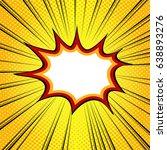 yellow burst background   Shutterstock .eps vector #638893276