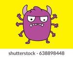 monster kids | Shutterstock . vector #638898448