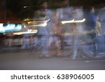 dubai street photography ... | Shutterstock . vector #638906005