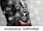 market place concept. store... | Shutterstock . vector #638910868