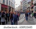 istanbul  turkey  january 23 ... | Shutterstock . vector #638922685