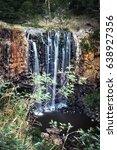 trentham falls  victoria ...   Shutterstock . vector #638927356