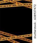 vector illustration of a police ...   Shutterstock .eps vector #638937472