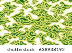 batik painting of java... | Shutterstock .eps vector #638938192
