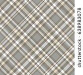 seamless tartan plaid pattern.... | Shutterstock .eps vector #638983078