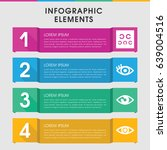 modern see infographic template.... | Shutterstock .eps vector #639004516