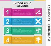 modern decision infographic... | Shutterstock .eps vector #639004576