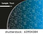 vector chemical formula | Shutterstock .eps vector #63904384