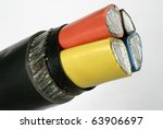 macro detail of a electrical... | Shutterstock . vector #63906697