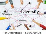 difference variety diversity... | Shutterstock . vector #639070405