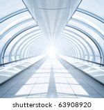 Symmetric Modern Hall Inside...