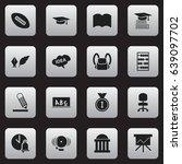 set of 16 editable education...