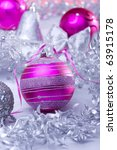 new year or christmas decoration | Shutterstock . vector #63915178