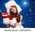 Winter Portrait Of A Santa ...