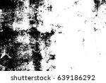 grunge vector texture. black... | Shutterstock .eps vector #639186292