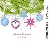 christmas background   Shutterstock .eps vector #63919261