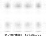 abstract halftone dotted... | Shutterstock .eps vector #639201772