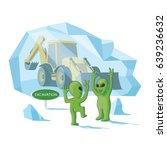 Happy Aliens Excavate A Human...