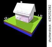 3d illustration of diagram of a ...   Shutterstock .eps vector #639252382